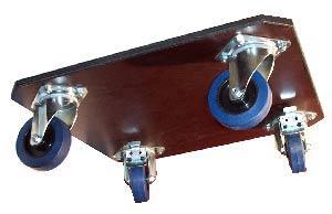 Planche a roulette - Roulettes industrielles pour meubles ...